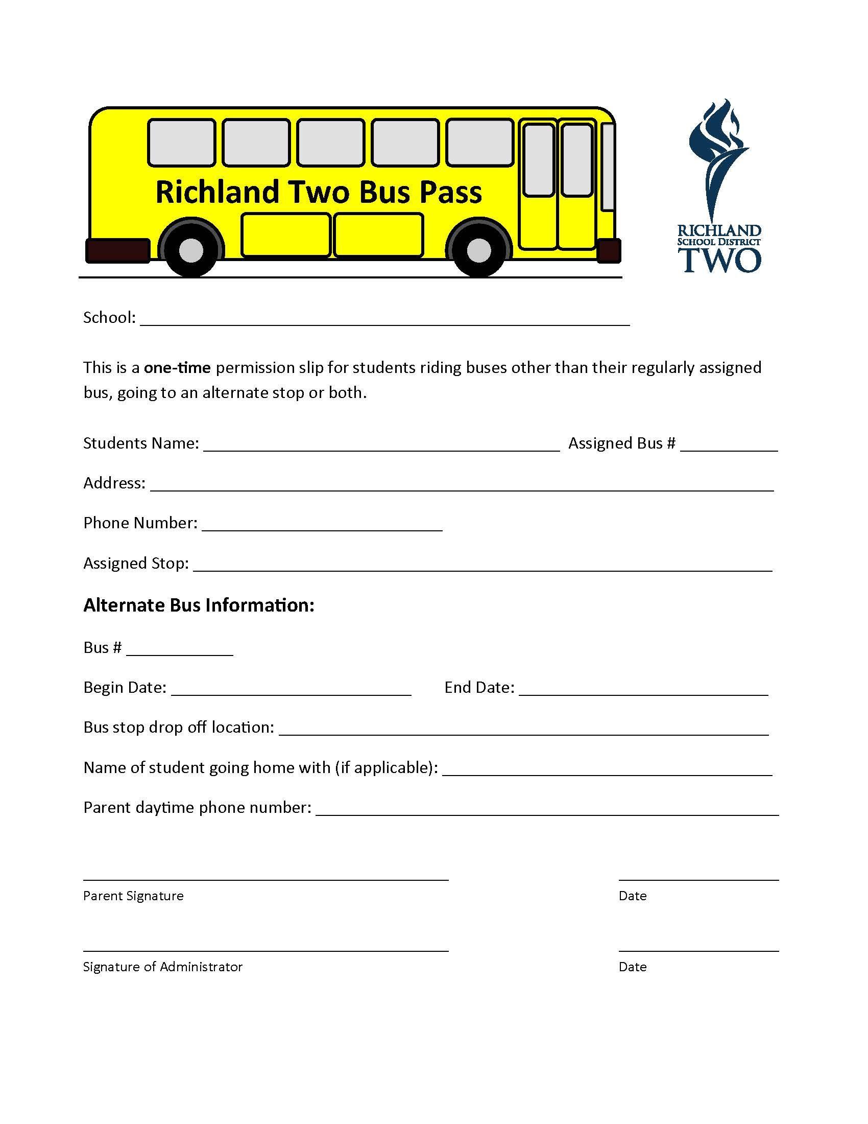 R2 Bus Pass Bus Pass Bus Information Bullet Journal School