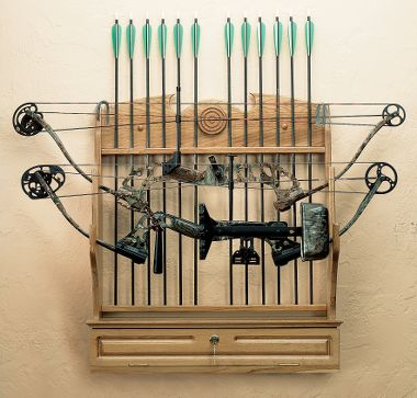 Bow Rack Plans Wall
