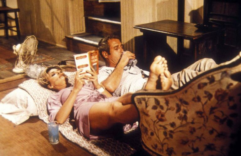 Reading next to Paul Newman. WUSA 1970 which Joanne Woodward