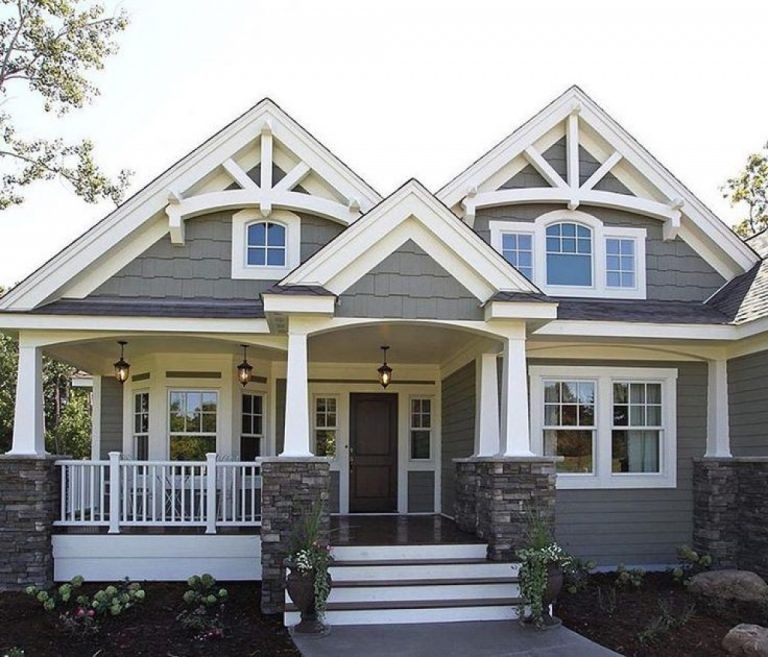 Craftsman Home Exterior Colors Charming For Style Homes 41 In Creative