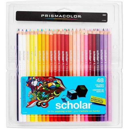 Prismacolor Scholar Colored Pencils 48 Pack Assorted Products