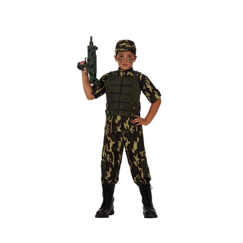 Disfraz de Soldado Camuflaje #disfraces #carnaval