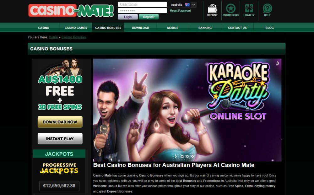 Casino Mate Gambling sites, Casino, Best casino