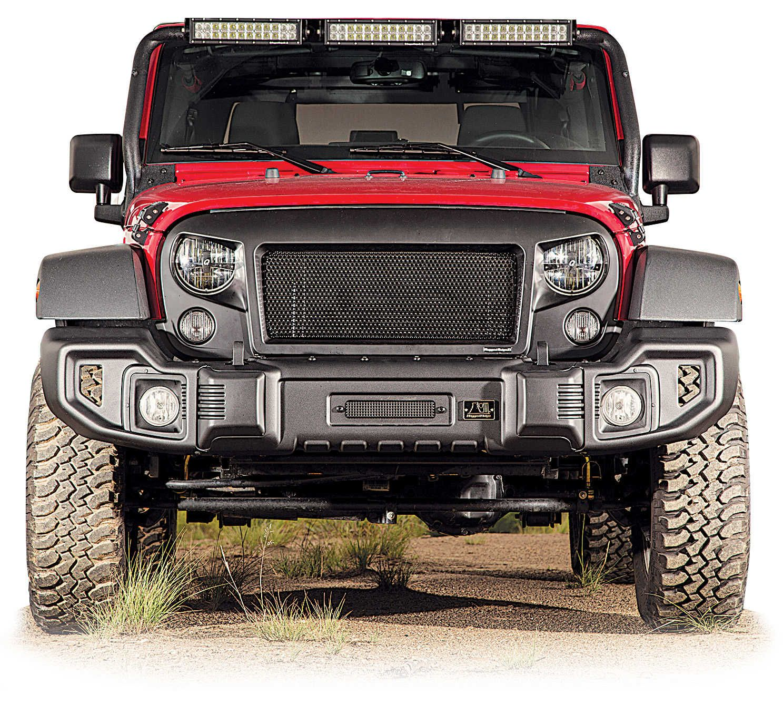 Rugged Ridge Spartacus Front Bumper For 07 16 Jeep® Wrangler U0026 Wrangler  Unlimited JK   Quadratec