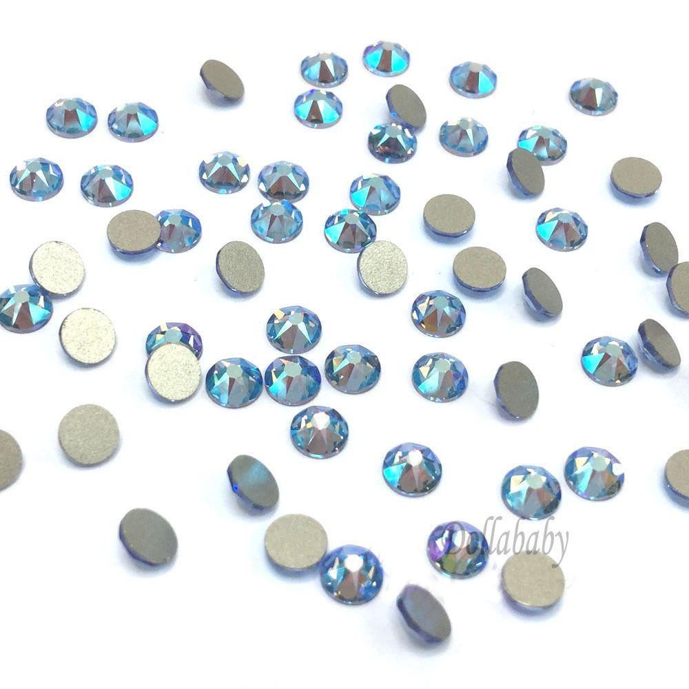 Sapphire Flatback Rhinestones