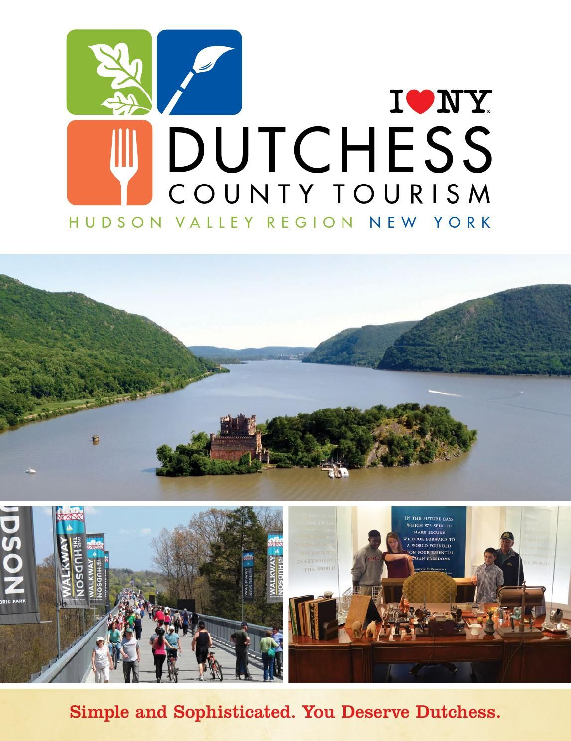 2014 dutchess county tourism travel guide pinterest tourism rh pinterest com Travel Brochure Travel Guide Examples