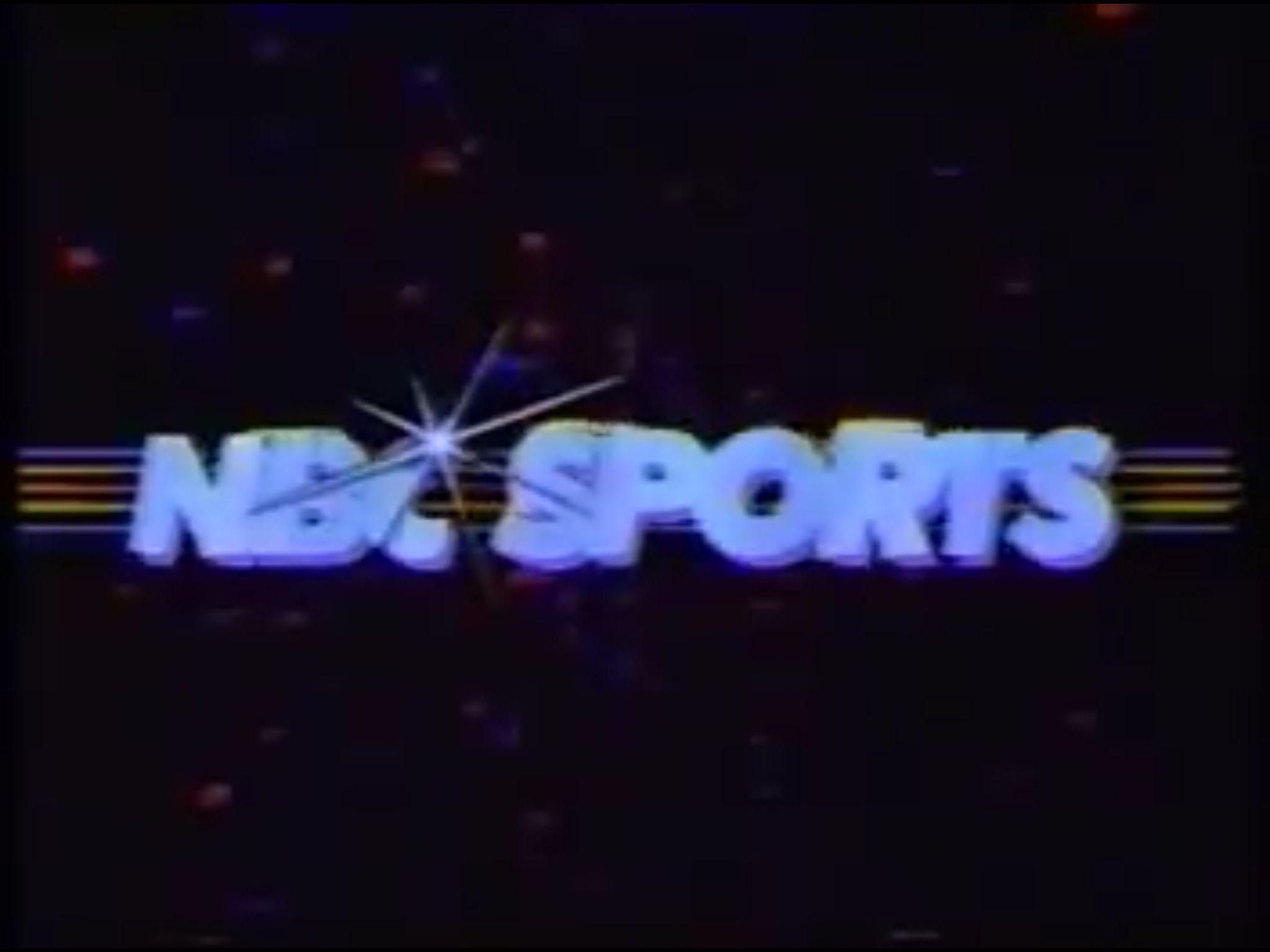 NBC Sports logo, 1983 Sports logo, Sports, Neon signs