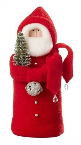 MADE IN USA Hearts Ivy Designer Collection Jingle Bell Santa Christmas Figure O My Goodness Do I Love These Started Collecting Them