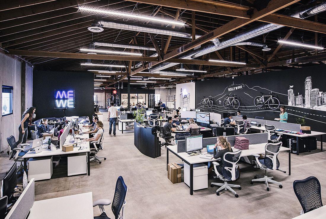 An Exclusive Tour Of Meundies Super Cool Los Angeles Office Desain Furnitur Desain Kantor