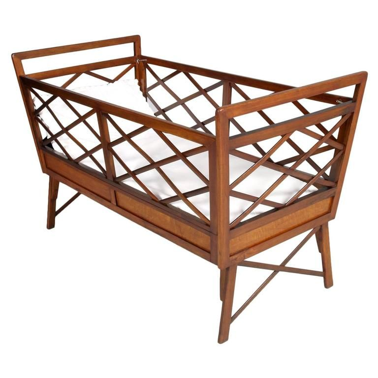 Best Mid Century Modern Baby Bed Franco Albini Manner All 400 x 300