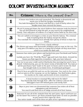 c i a colony investigation agency 13 colonies activity 13 rh pinterest com Guided Reading Activity 13 1 1 Corinthians 13 Activity Sheets