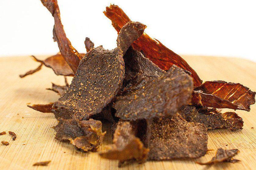 Grassfed Beef Crisps, Black Pepper