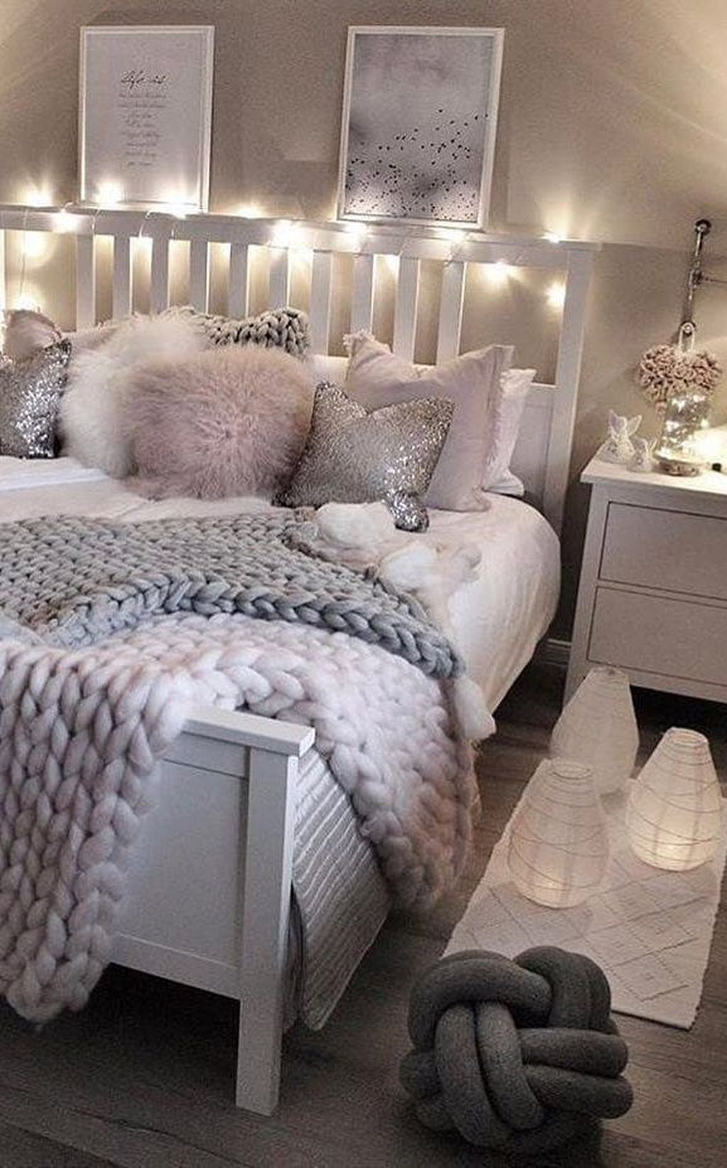 Beautiful Small Bedrooms: 36 Beautiful Bedroom Design And Decor Ideas For Girl To