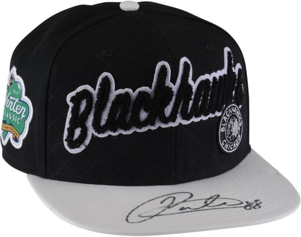 f9bf67b78db14 Autographed Patrick Kane Blackhawks Hat Fanatics Authentic COA Item 9139272