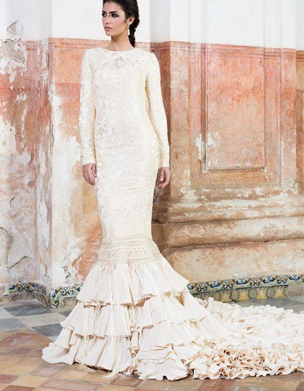 Vestidos de novia flamencos: ¡Para novias con mucho arte ...