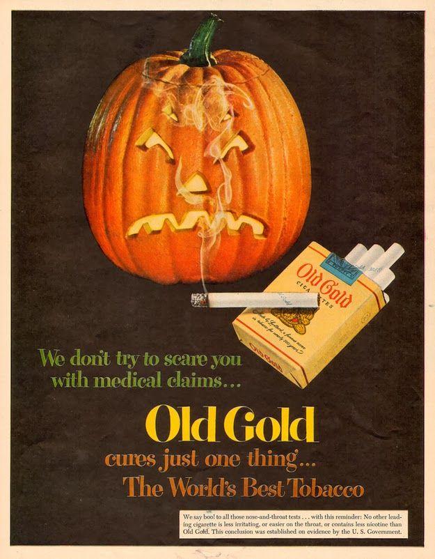 vintage everyday: The Scariest Vintage Halloween Ads
