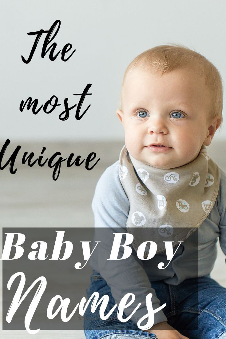 20 UNIQUE BABY BOY NAMES (With images) | Baby boy names