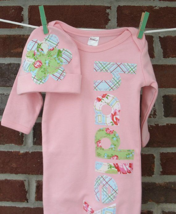 4ebe41519cf0 Newborn baby girl coming home outfit