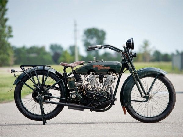 1922 Harley Davidson Jd Motorcycle With Images Harley Bikes
