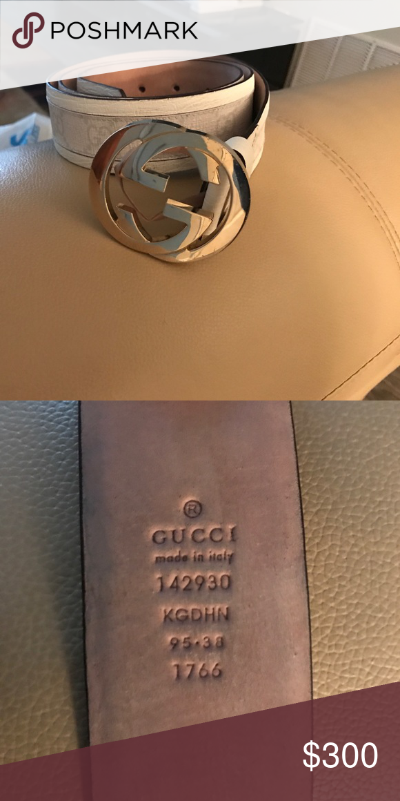 Gucci Belt Serial Number >> White Gucci Belt Attached Serial Number This Is An Older Model