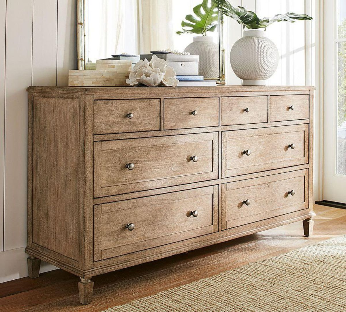 Sausalito 8Drawer Extra Wide Dresser in 2020 Furniture