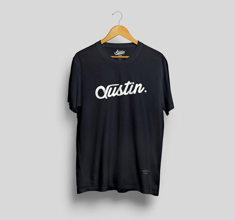 Download Medusakick Hanging Front T Shirt Mockup