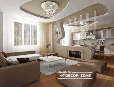 creative pop false ceiling designs for living room - Living Room Pop Ceiling Designs