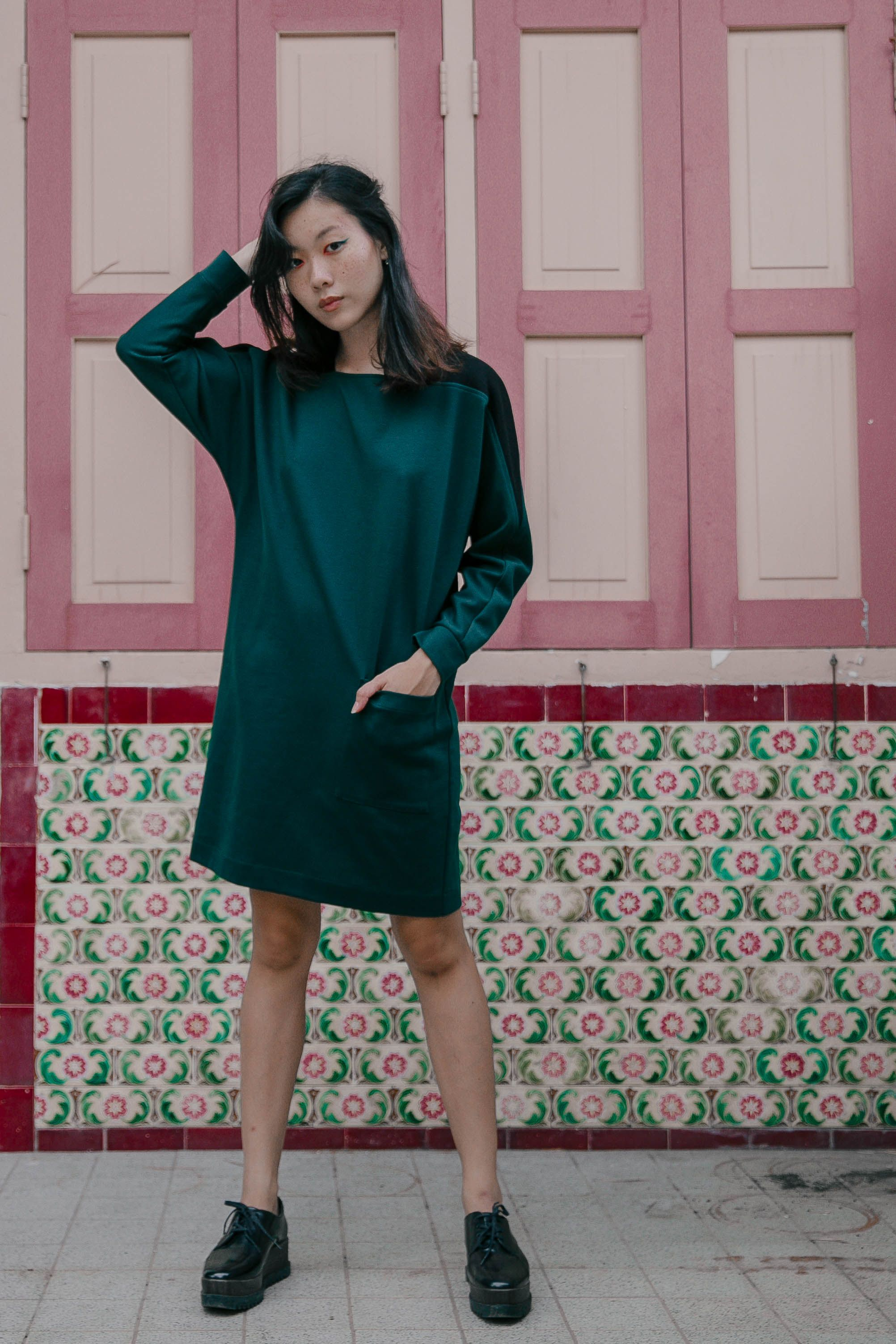 Square Neck Sweater Dress Dresses Sweater Dress Long Tops [ 3006 x 2004 Pixel ]