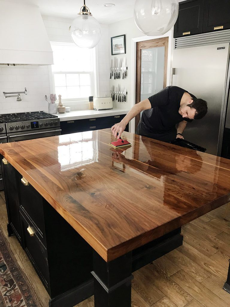 Best Wood For Butcher Block Countertops: How We Refinished Our Butcher Block Countertop