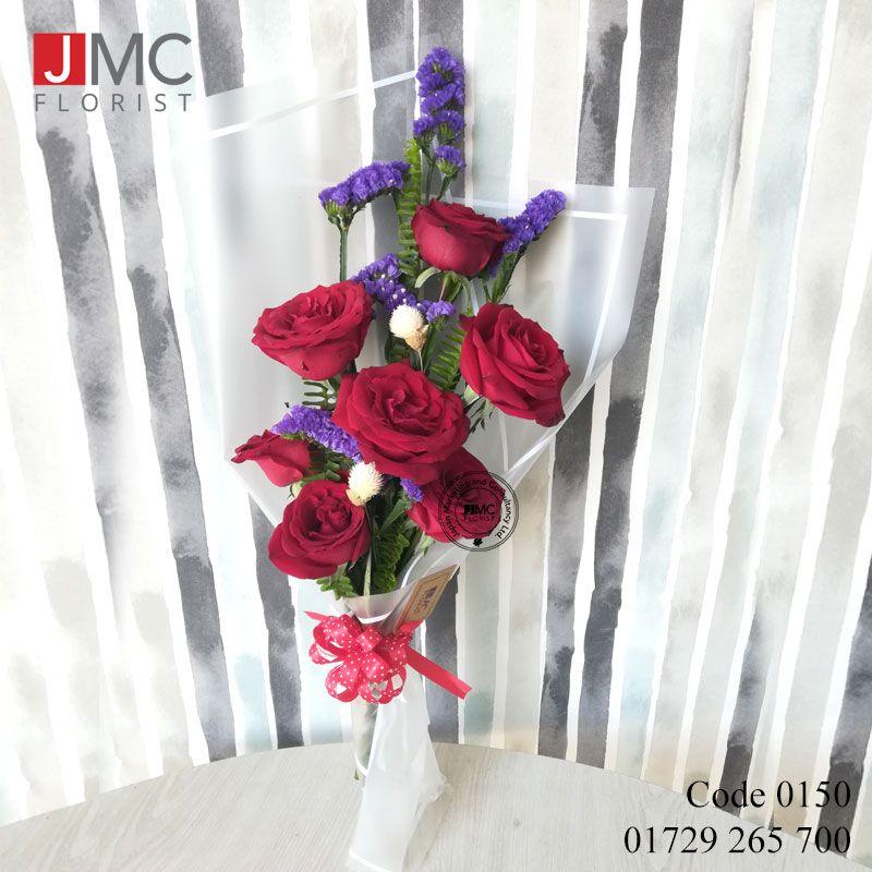 Rose Starry Combine Bouquet Jmc Florist 0150 Online Flower Shop Fresh Flower Delivery Flower Delivery