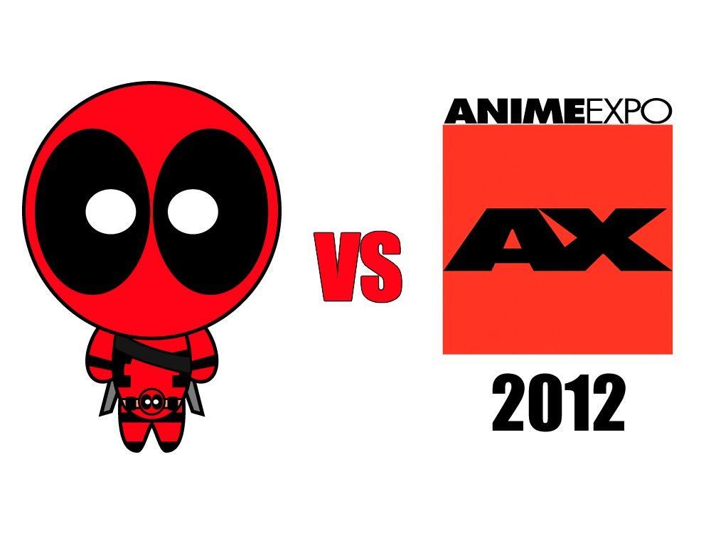 Deadpool vs Anime Expo 2012