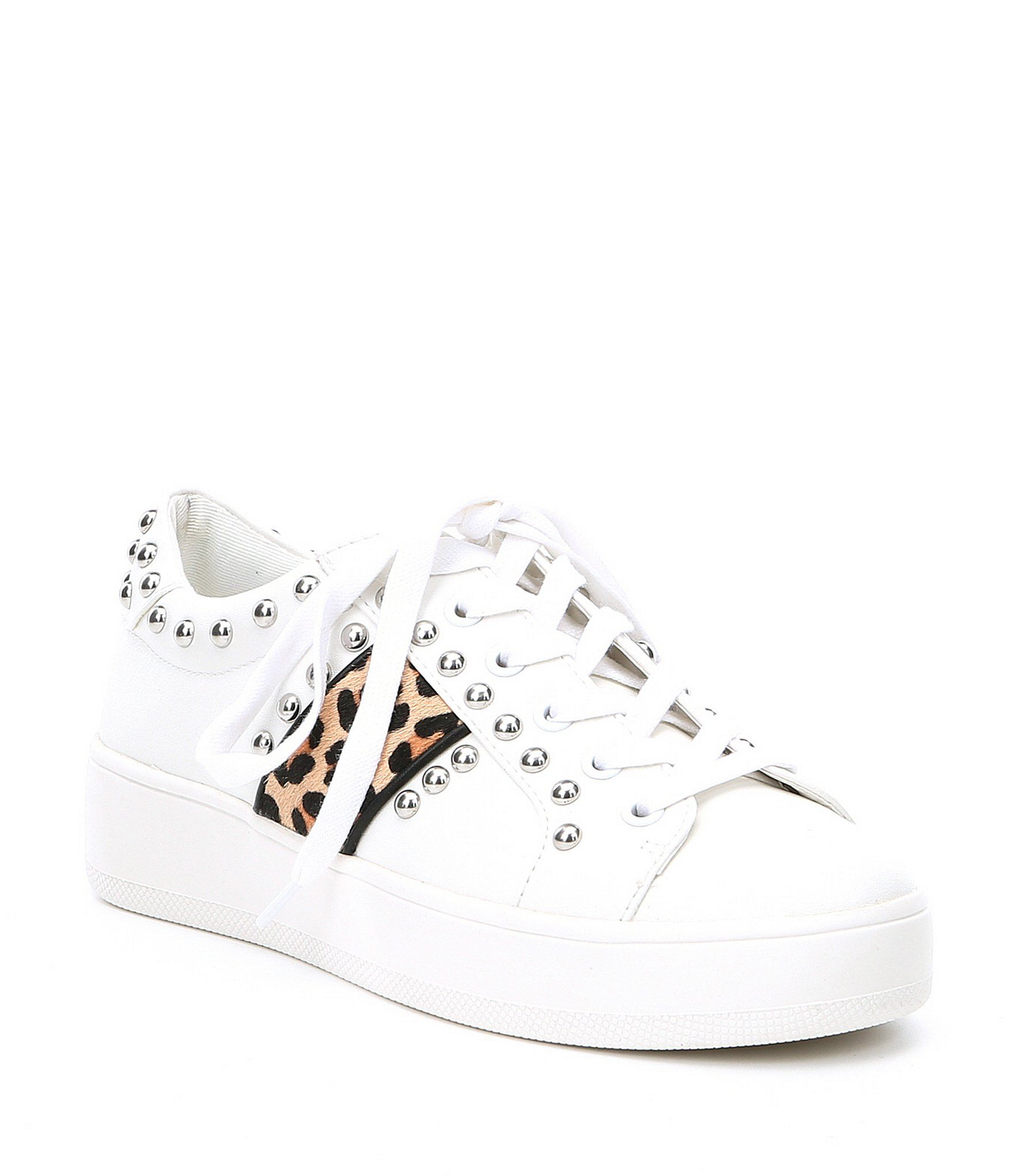 022d62b2fce Shop for Steve Madden Belle Leopard Studded Sneakers at Dillards.com. Visit  Dillards.com to find clothing