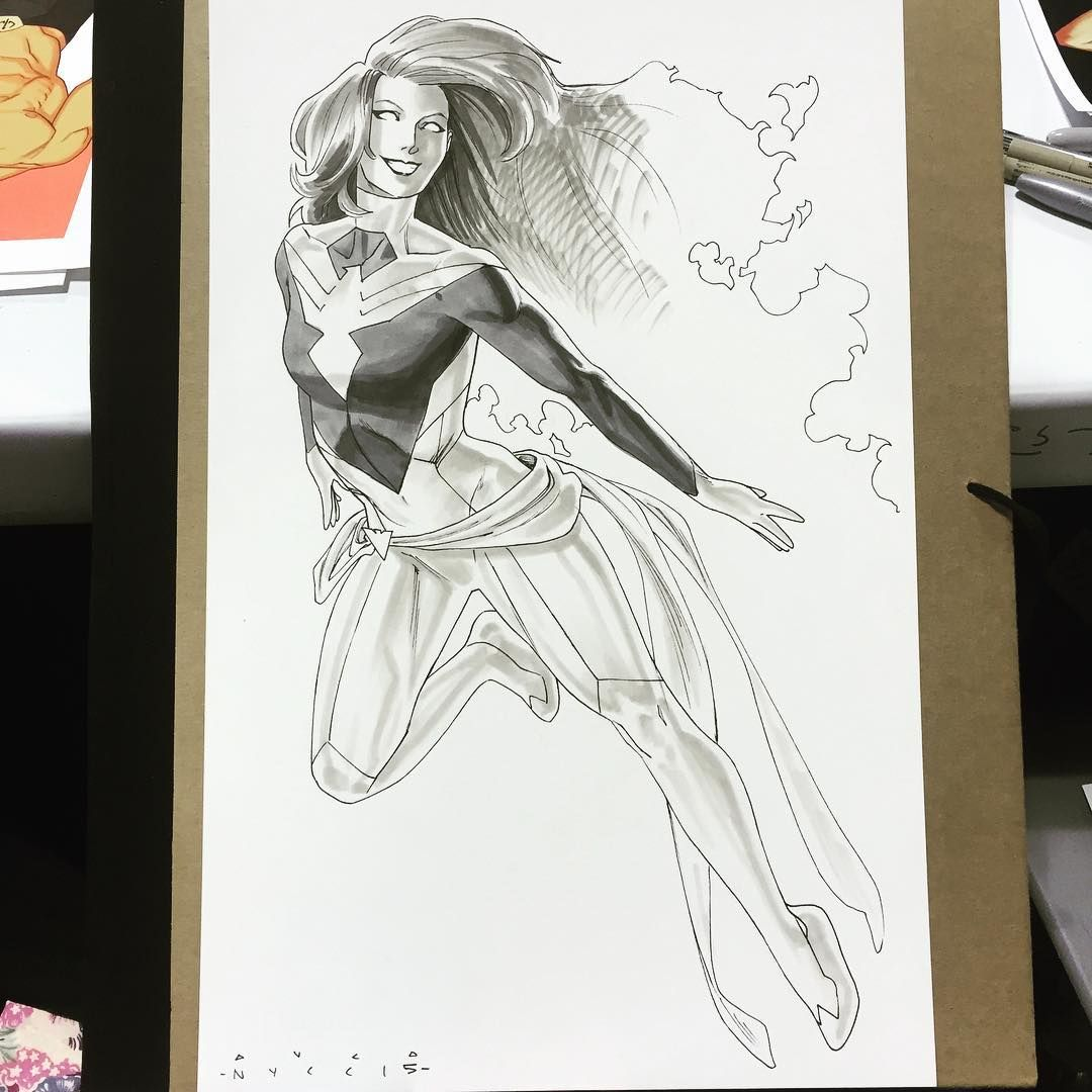 Jean Grey Phoenix redesign commission by Kris Anka NYCC