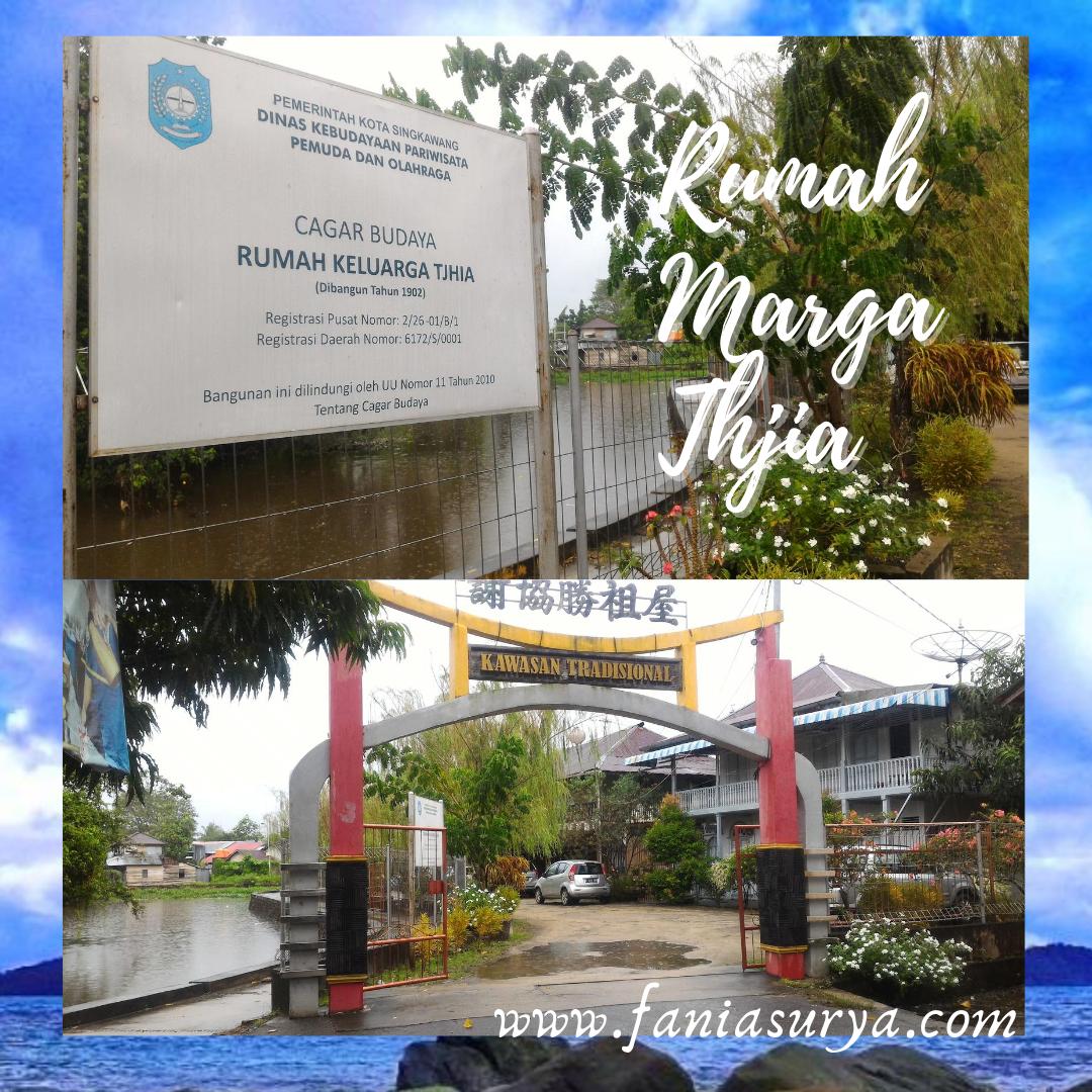 Rumah Marga Thjia Pontianak Singkawang Pariwisata Kota Rumah Keluarga