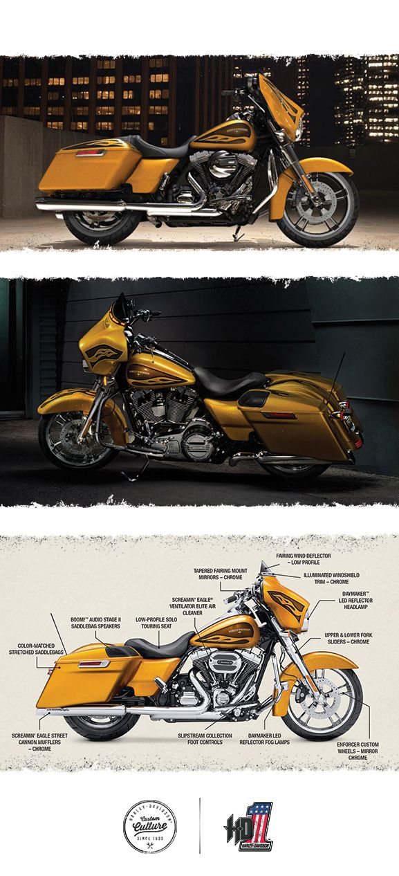 A blend of well-chosen extras help make this one something extra special.   2016 Harley-Davidson Street Glide Special