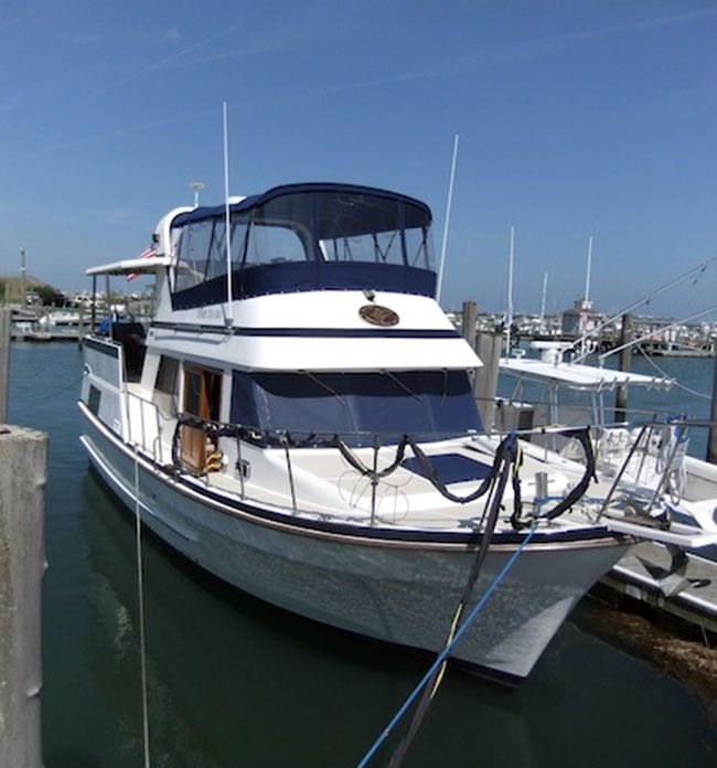 Tradewinds Generators: 38 Marine Trader Tradewinds Trawler For Sale