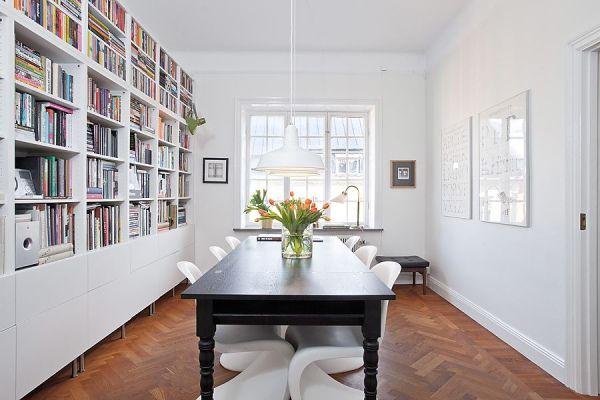 Et vakkert hjem med kontraster (ernashus)