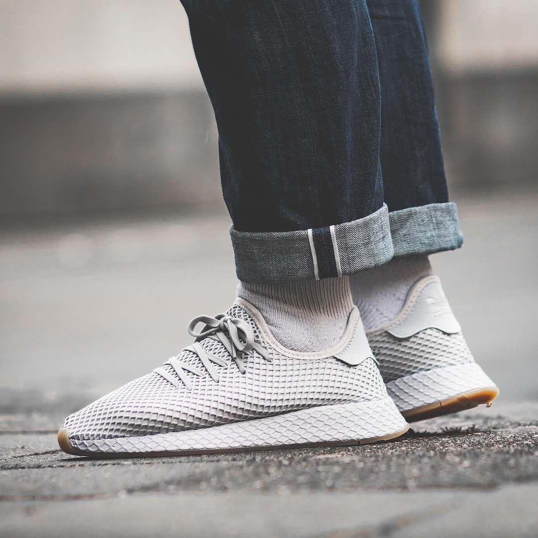 52e3a70fa Adidas Deerupt Runner Grey   Gum