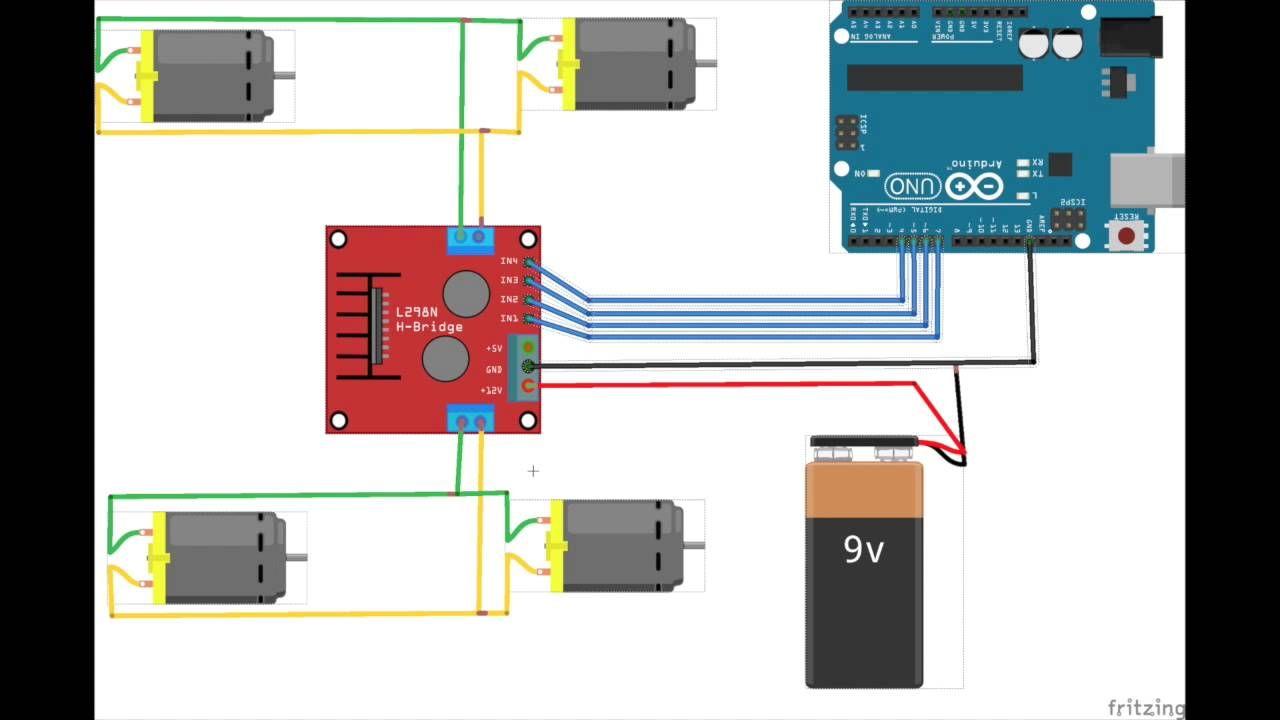 wiring h bridge wiring diagram arduino wiring harness afbeeldingsresultaat voor h bridge l298n rc cars arduino [ 1280 x 720 Pixel ]