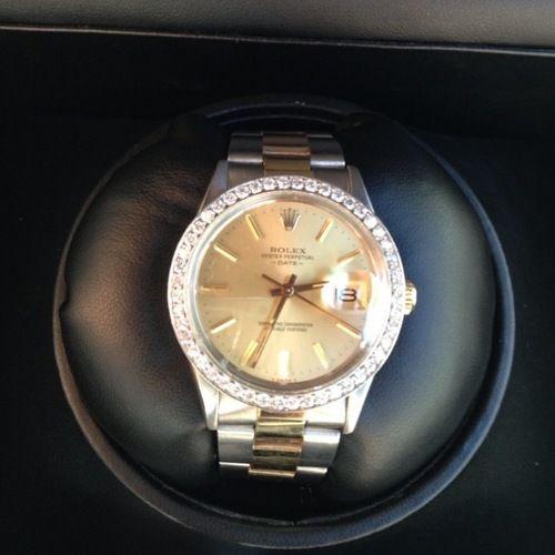 Diamond Bezel Rolex