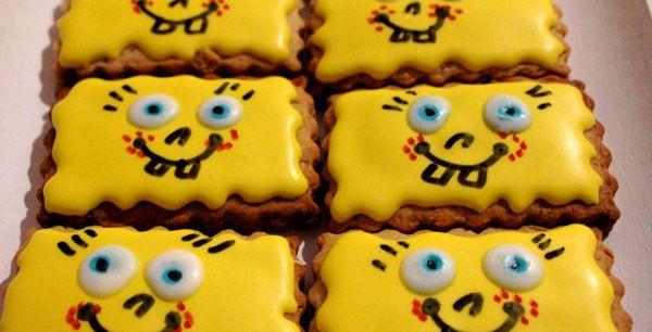 Biscotti Bambini ~ Ricetta dei biscotti di spongebob: come preparare uno dei dolci