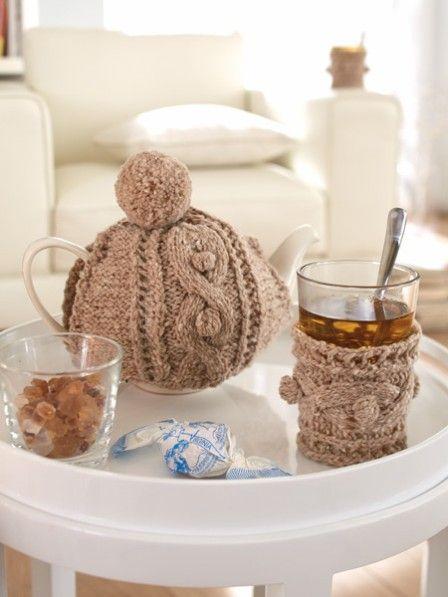 DIY-Tipp: Kannenwärmer selber stricken | Kaffee, Anleitungen und ...