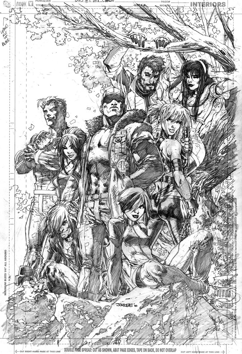 Jim Lee Drawing Comic Books Is Actually A Part Of My New Job Description Robot 6 Comic Book Resources Jim Lee Art Jim Lee Sketches