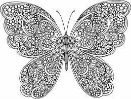 Resultado De Imagen Para Mariposas Para Colorear Dibujos De