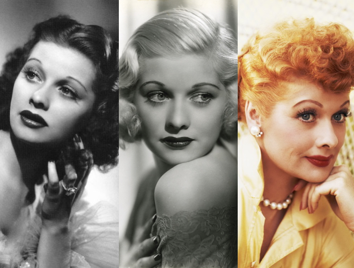 Lucille Ball Ball Hairstyles Natural Hair Styles Natural Hair Color