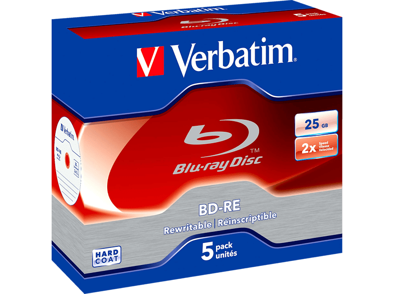 Verbatim 43615 Bd-re 25gb Rohlinge
