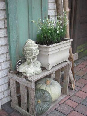 Photo of Hausfassade / Außenansichten 'Herbstdeko'