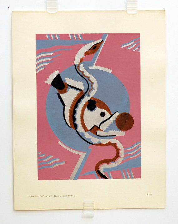 Original Serge Gladky Composition Nouvelle Series 2  43 by HodesH, $99.00