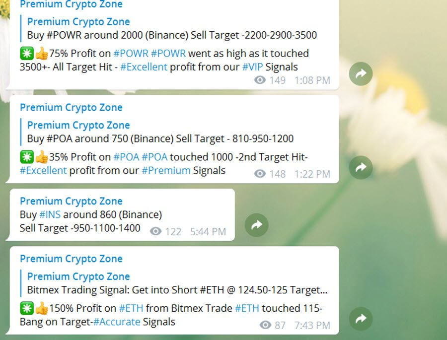 Join Https T Me Cryptosignalalert You Can T Follow All Signals