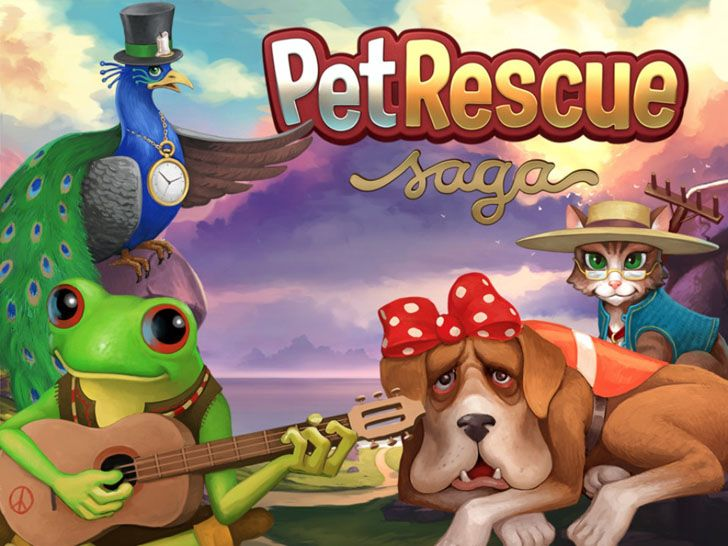 Pet Rescue Saga App Free Apps Guide Pet Rescue Saga Animal Rescue Animal Advocacy